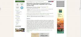 Pubblicata una sintesi del progetto BiodiverSO