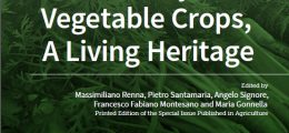 "Pubblicato e-book ""Biodiversity of Vegetable Crops, A Living Heritage"""